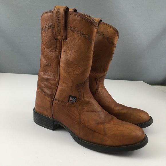 2333d84b5c8 Justin George Strait Womens Boots Sz 6.5B